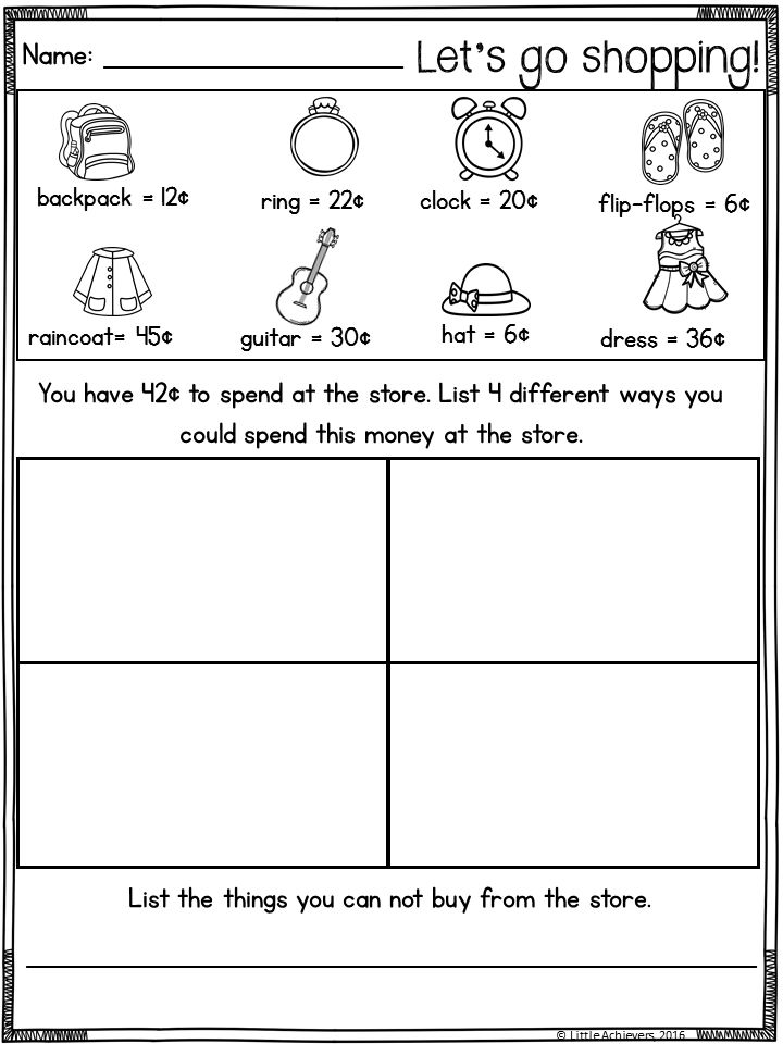 The 25+ best Counting money worksheets ideas on Pinterest Money - subtracting money worksheet