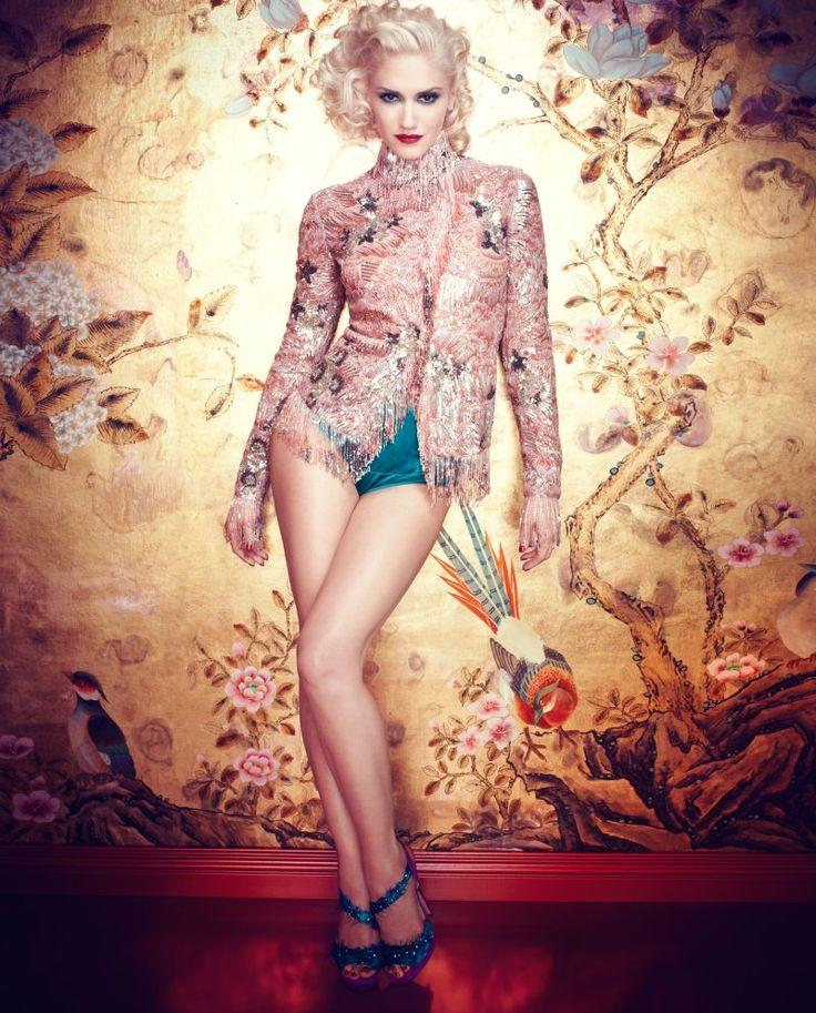 Gwen Stefani by Michelangelo di Battista for InStyle