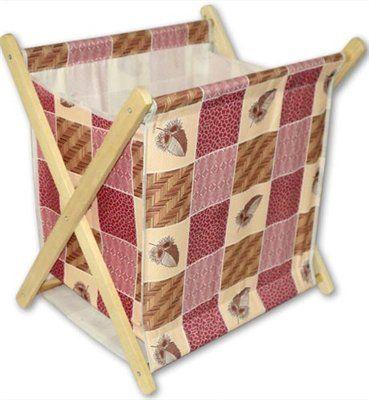 Самодельная раскладная подставка под рукоделие или для журналов.