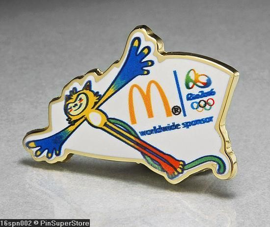 MCDONALDS SPONSOR MASCOT Vinicius. TOPAZMINER: Olympic Lapel Pins and Other collectibles. SOME OF THESE PINS WERE TRADED DIRECTLY AT PAST OLYMPIC GAMES WITH ATHLETES, PARTICIPANTS, VOLUNTEERS AND SPECTATORS. | eBay!