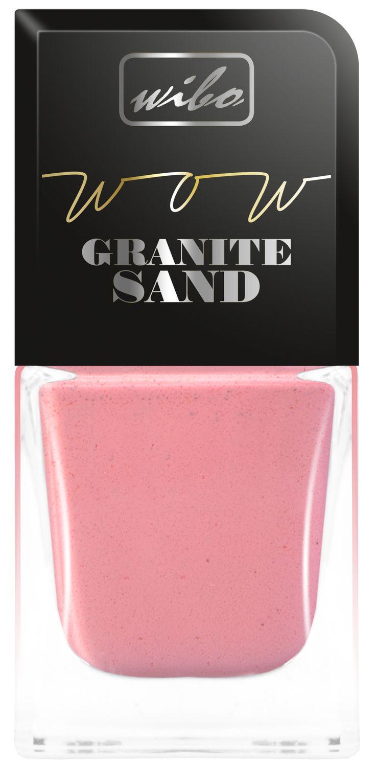 lakier do paznokci WOW Granite Sand