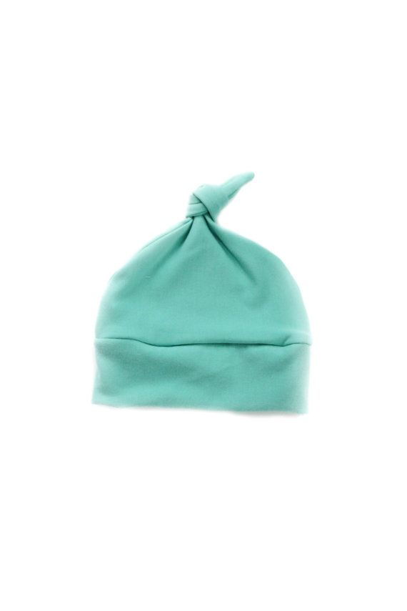 baby beanie hat blue knotted hat baby knotted hat hat for