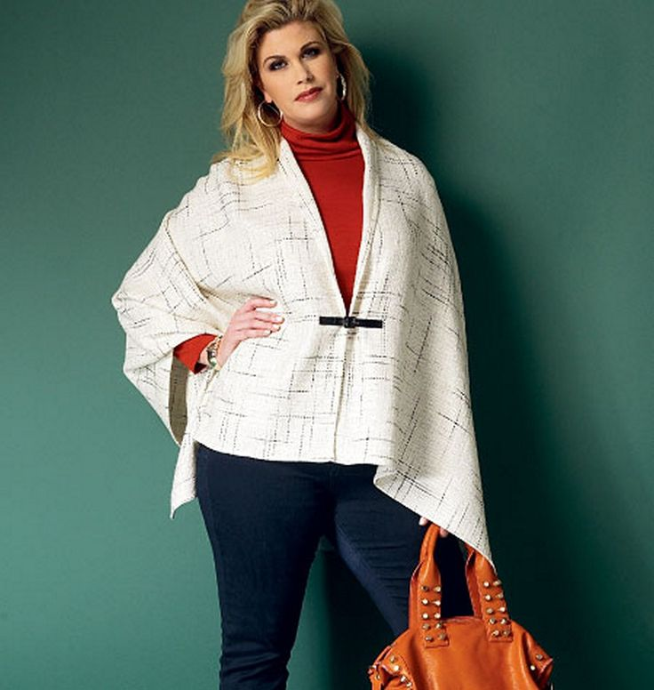 25 Best Plus Sized Patterns Images On Pinterest Sewing Ideas