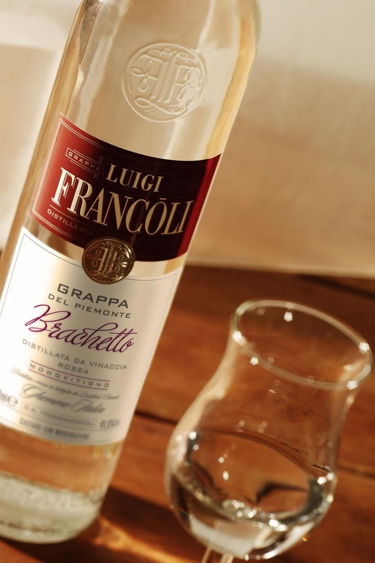 Grappa Luigi Francoli Brachetto del Piemonte #grappa #grappafrancoli