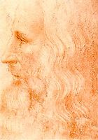 Par francesco melzi portrait de leonard de vinci 1485 for Paysagiste anglais celebre