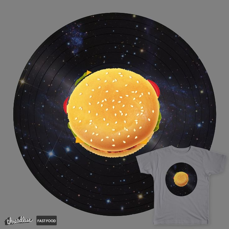 DISC BURGER ACROSS THE UNIVERSE on Threadless