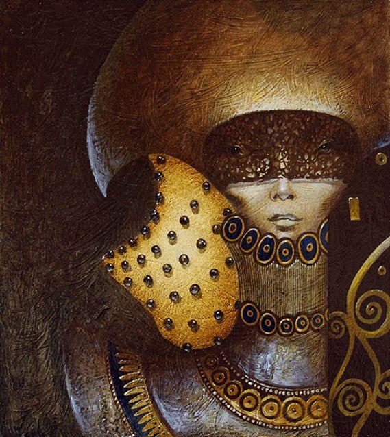 """Shumatta"",oil,panel,by NodnaMar"