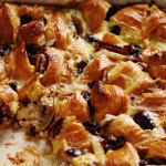 A twist on the classic pudding using day-old croissants...