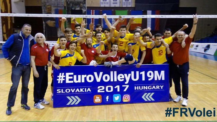 Seara fantastica pentru voleiul juvenil din Romania! Fetele si baietii s-au calificat la Campionatele Europene! Felicitari tuturor sportivilor si colectivelor tehnice! Voleiul romanesc are viitor! #felicitari #mandridevoi #eurovolleyu19m #eurovolleyu18w #ourgirls #ourboys #volleyball #cev #frvolei #proudofyou