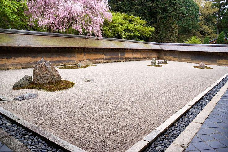 Kyoto, Ryoanji zen garden, Japan