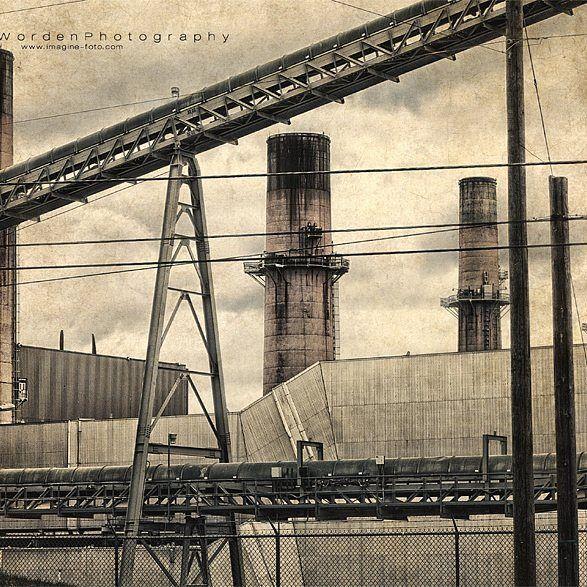 #Industrial #energy. Original #photo by Denise Worden.
