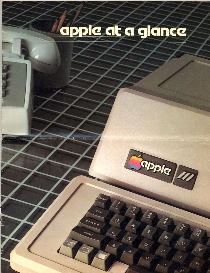 Apple III - Apple At A Glance ad.