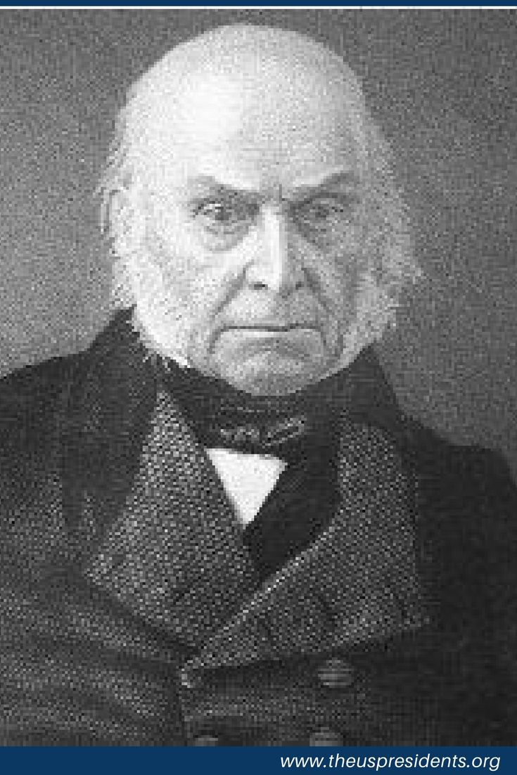 Facts about John Quincy Adams, son of John and Abigail Adams, served as the sixth President of the United States from 1825 to 1829. A member of multiple political parties over the years, he also served as a diplomat, a Senator, and a member of the House of Representatives.