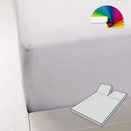 #beds #bedlinen Formesse Boxspring Split Spannbetttuch Bella Gracia Alto Duo 1 200x200 - 200x220 cm grau: Dieses… #mattresses #pillows