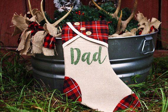 Monogrammed Stockings - Burlap Christmas Stockings - Family Stockings - Matching Stockings - Christmas Stockings - Personalized Stockings