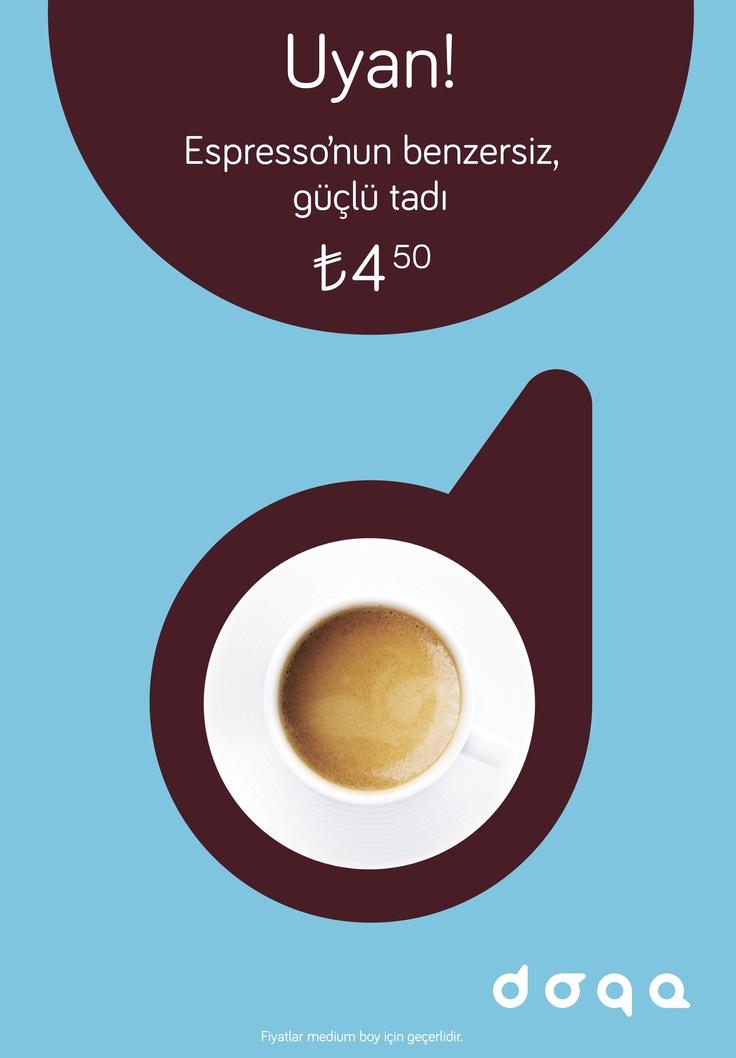 Doqa, Cafe, Coffee, Wake Up, Drink, Kahve, Mola, Taksim, Levent, Milk, Süt, Food, Morning, Breakfast, Kahvaltı, Takeaway, Paket servis, Service, Espresso