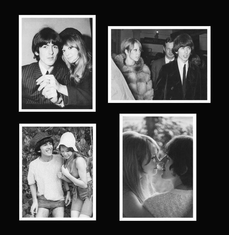 Beatles George Harrison & Pattie Boyd. George Harrison and Pattie Boyd. These photos are collectibles from one Beatles Fan to the other. The photographs are real photos on photo paper. These photos are NOT cheap computer prints. | eBay!