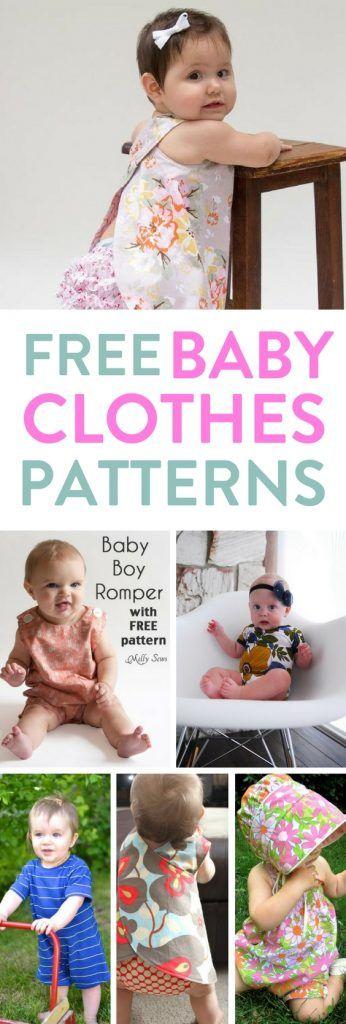 Kostenlose Babykleidung Muster: MumsMakeLists – Life Hacks für vielbeschäftigte Mütter – Baby ideas