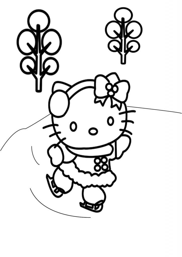 Hello Kitty Christmas Coloring Pages Best Coloring Pages For Kids Hello Kitty Colouring Pages Kitty Coloring Hello Kitty Coloring
