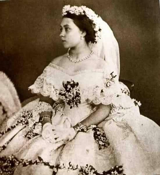 Principessa Reale Vittoria del Regno Unito, sposò 1858 principe Federico Guglielmo di Germania