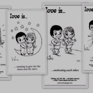 Love is...  (comic strip)