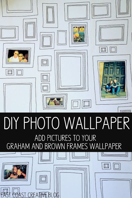 Frames Wallpaper and My DIY Dining Room - East Coast Creative Blog