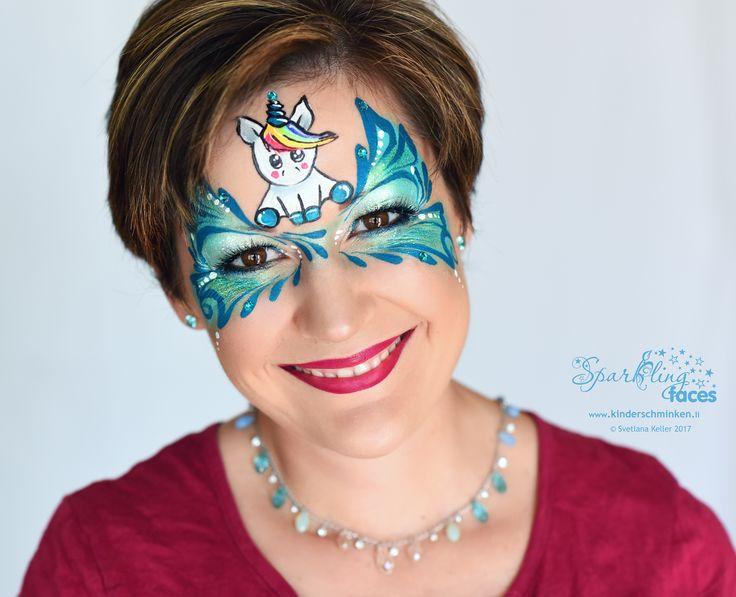 www.kinderschminken.li, Kinderschminken, Kinderschminken Vorlagen, Schminkfarben kaufen, Kinderschminken Kurse, Schminkfarben Schweiz, Airbrush Tattoos, Svetlana Keller, face painting
