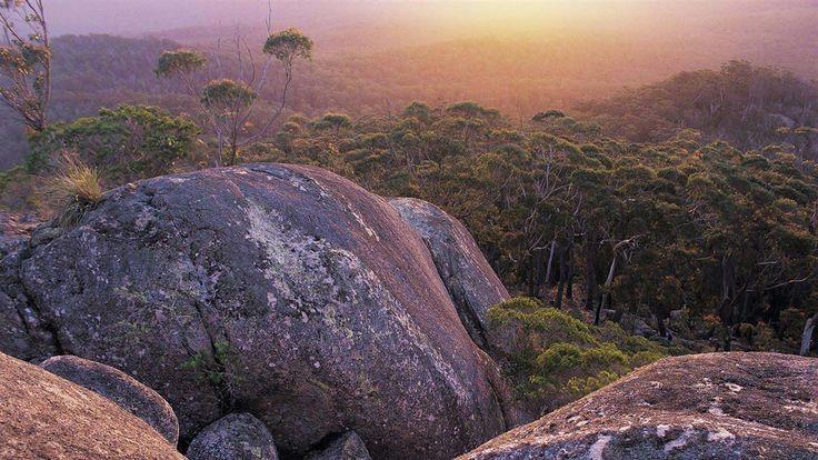 Genoa Peak in Croajingolong National Park, Gippsland, Victoria, Australia