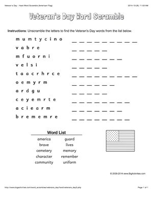 72 best images about Veterans Day teaching resources on Pinterest ...