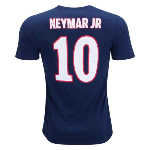 Nike Neymar Jr Paris Saint-Germain Home T-Shirt