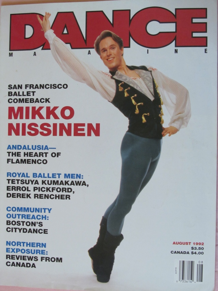 Still have my first Dance magazines from 20 years ago! This one has Boston Ballet's current AD on the cover.