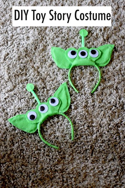 DIY: Toy Story Alien Costume                                                                                                                                                                                 More