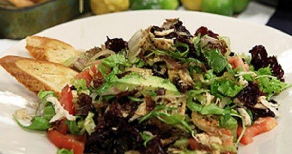 Receta facil para hacer el Salpicon de pollo al estilo mexicano. Salpicon de pollo rostizado mexicano. Como hacer el Salpicon de pollo mexicano.