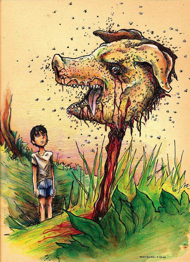 """Dibujos novelas lord of the flies """"El señor de las moscas"""" (1954) – William Golding"""