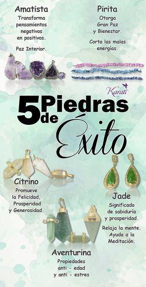 5 Piedras de Éxito. Citrino, Amatista, Pirita, Jade, Aventurina.  #Éxito #Piedra #Negocio #Joyería  Encuéntralas en www.karati.com/piedras/