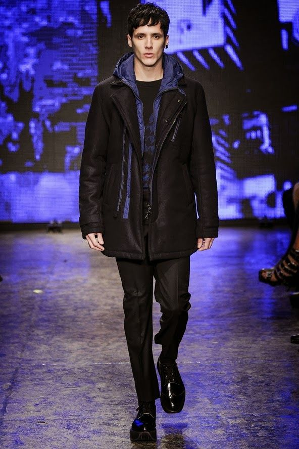 DKNY men NYFW aw 2014-15 awesome men's outfits