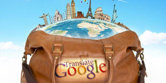 Google translate INFO