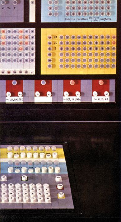 Ettore Sottsass lea 9003 computer for Olivetti, 1958