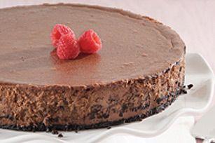 Chocolate Truffle Pie - Philly Cream Cheese Cheesecake Recipes - New York Cheesecake & Easy Cheesecake Recipes | Kraft Philly