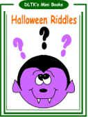 printable halloween riddle book