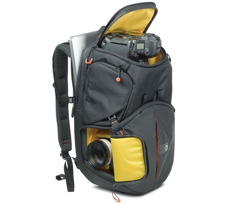 KATA  Revolver 8 PL DSLR Camera Case - Black & Yellow, Black Price: £ 299.99 Protect your camera equipment and take it everywhere you go with the Kata KT PL-R-8 Revolver 8 PL DSLR Camera Case , perfect for professional photographers. Excellent protection The KT PL-R-8 Revolver 8 PL is designed to hold a DSLR with a grip and standard lens attached, as well as four or five lenses and...