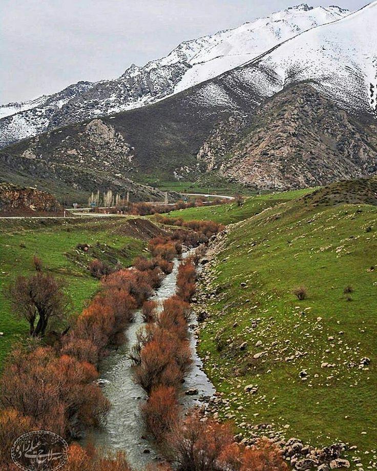 Beautiful Marivan County in Kurdistan, Iran.