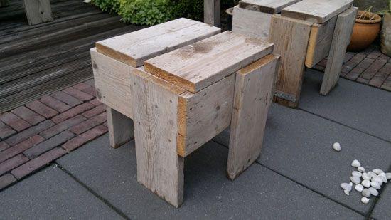 Michel 39 s blog zelf tuinmeubelen maken van steigerhout for Steigerhout tuinmeubelen zelf maken