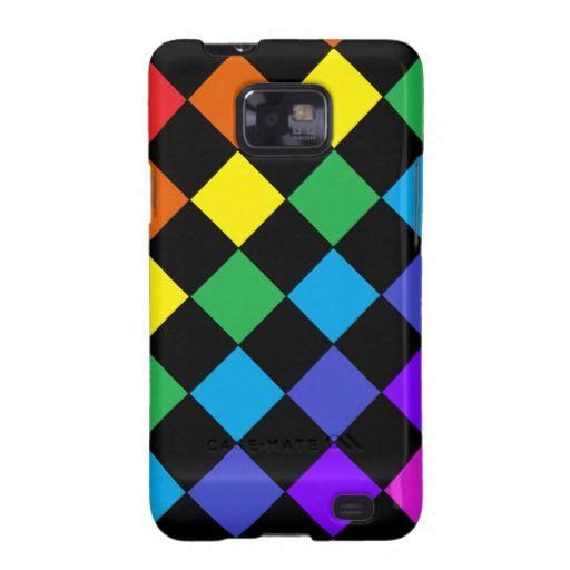 Gay Pride Rainbow Gifts Rainbow Chessboard Samsung