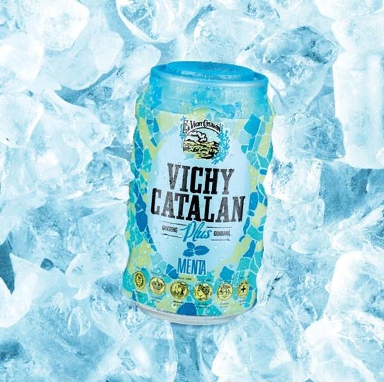 Vichy Catalán Plus sabor menta
