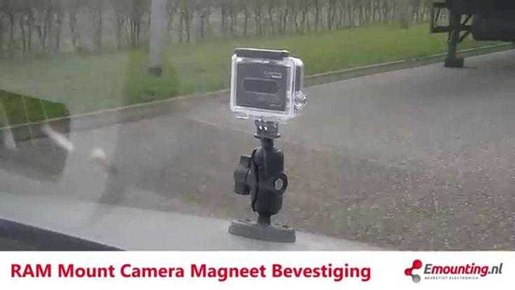 RAM Mount Camera en GoPro magneet bevestiging demo