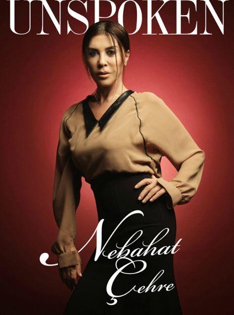 Nebahat Çehre - Unspoken Magazine Cover [Turkey] (December 2012)