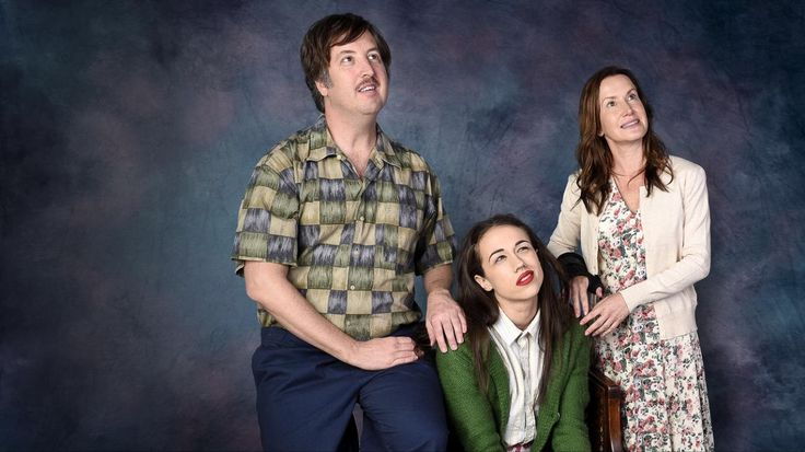 Colleen Ballinger, Steve Little and Angela Kinsey in Haters Back Off (4)