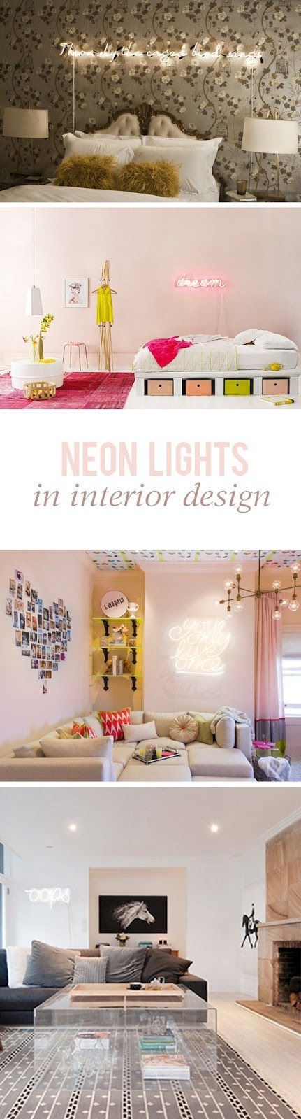 Olga Aguilar: Currently Loving: NEON LIGHTS