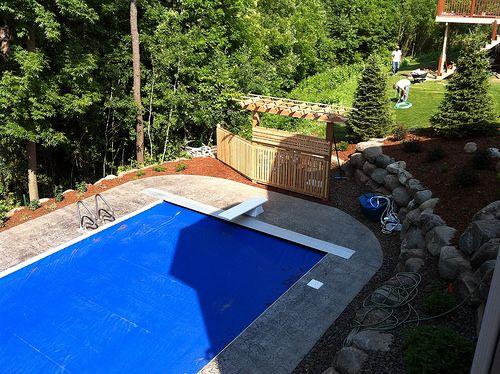 Betonbecken, Stampfbeton, Dekorativer Beton, Pool Terrasse, Traumhäuser,  Stempeln, Decking, Schwimmbäder